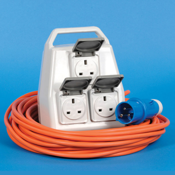 camping electric hook up adapter